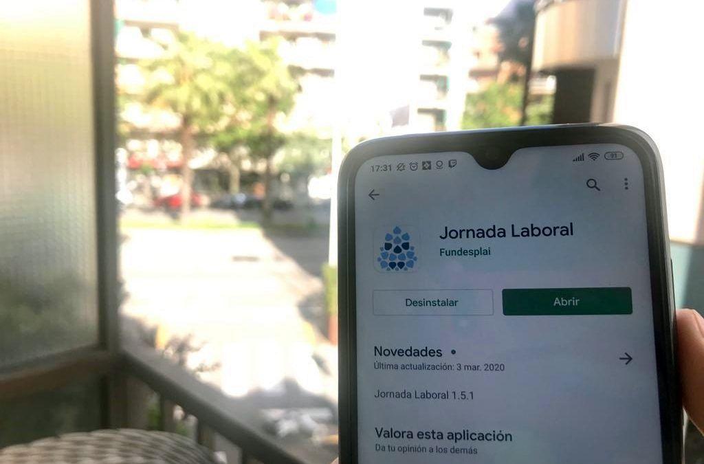 App gratuïta perquè associacions i fundacions puguin registrar les jornades laborals en temps de teletreball