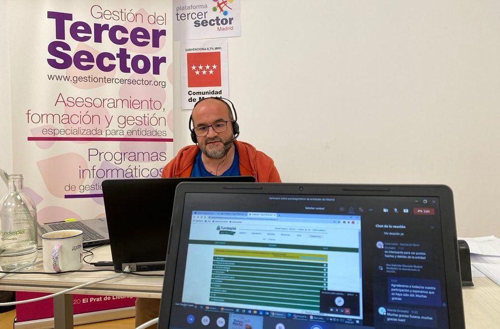 Presentem a Madrid una eina d'autodiagnosi per ajudar les entitats a analitzar la seva gestió