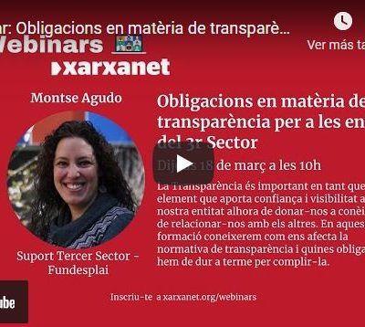 Les claus de la nova llei de transparència per a associacions i fundacions