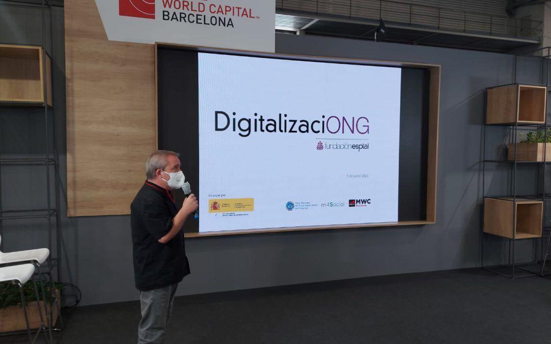 DigitalizaciONG, el projecte de Gestión Tercer Sector que arriba al Mobile World Congress
